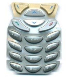 Original Tastenmatte Nokia 6310/6310i Schwartz-Gold